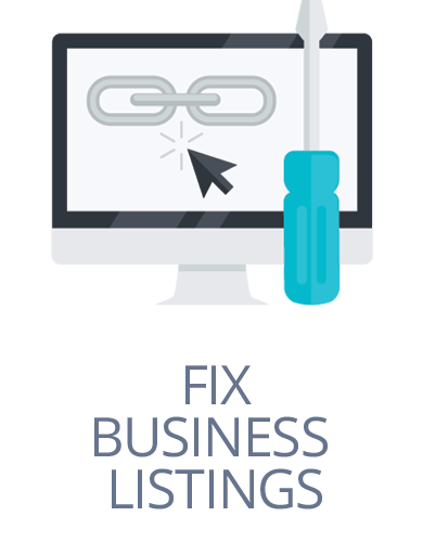 fix business listings