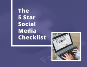 5 Star Social Media Checklist